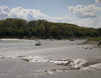 De rivier buigt Royalty-vrije Stock Foto's
