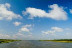 De rivier Colouful Stock Afbeeldingen