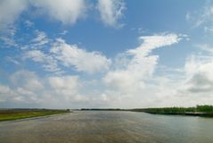 De rivier Colouful royalty-vrije stock fotografie