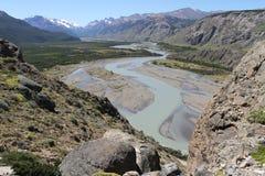 De rivier cuffed Royalty-vrije Stock Afbeeldingen