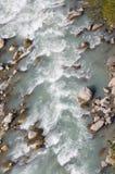 De rivier in de bergen Royalty-vrije Stock Foto