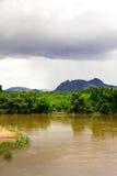 De rivier in de wildernis Stock Fotografie