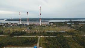 De rivier Dniepr stock videobeelden