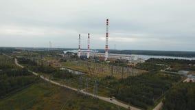 De rivier Dniepr stock footage