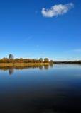 De rivier en de kust van het insect Royalty-vrije Stock Afbeelding