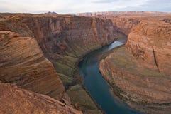 De Rivier en Mesas van Colorado Royalty-vrije Stock Foto's