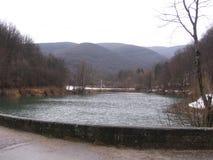 De rivier Grza in Servië Royalty-vrije Stock Foto