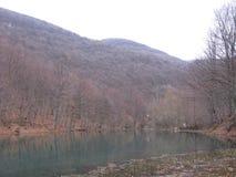 De rivier Grza in Servië Royalty-vrije Stock Foto's