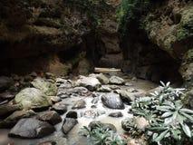 De rivier in het hol stock afbeelding