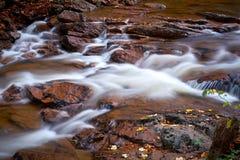 De rivier Ilse in het Nationale Park van Harz stock fotografie