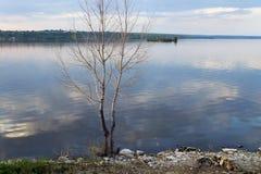 De rivier Kama Royalty-vrije Stock Fotografie