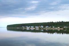 De rivier Kama Stock Foto's