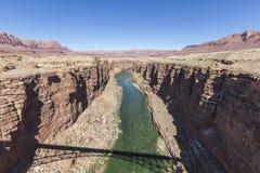 De Rivier Marmeren Canion Arizona van Colorado Royalty-vrije Stock Foto's
