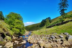 De rivier Rawthey royalty-vrije stock fotografie