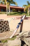 De Rivier Skii van Colorado door het Water Stock Foto's