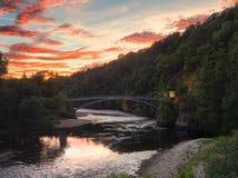 De rivier Spey Stock Foto