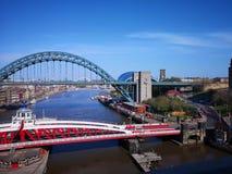 De rivier de Tyne royalty-vrije stock afbeelding