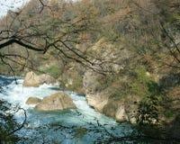 De rivier van Adda Stock Afbeelding