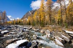 De rivier van Aktru royalty-vrije stock foto's