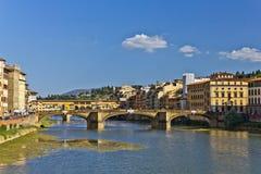 De Rivier van Arno in Italië royalty-vrije stock fotografie