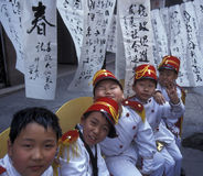 DE RIVIER VAN AZIË CHINA YANGZI Stock Foto's