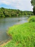 De Rivier van Barron in Queensland, Australië stock afbeelding