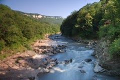 De rivier van Belaya Royalty-vrije Stock Afbeeldingen