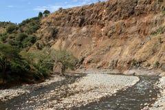 De rivier van Blauwe Nijl royalty-vrije stock foto's
