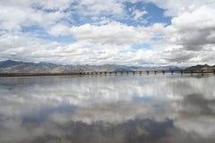 De rivier van Brahmaputra Royalty-vrije Stock Fotografie