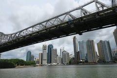 De Rivier van Brisbane brisbane queensland australië stock foto's