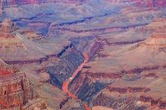 De rivier van Colorado in Grote canion Royalty-vrije Stock Foto's