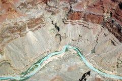 De Rivier van Colorado - Grote Canion Royalty-vrije Stock Fotografie