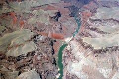 De Rivier van Colorado - Grote Canion royalty-vrije stock afbeelding