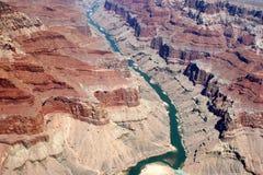 De Rivier van Colorado - Grote Canion royalty-vrije stock afbeeldingen