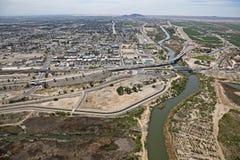 De Rivier van Colorado in Yuma, Arizona Stock Fotografie