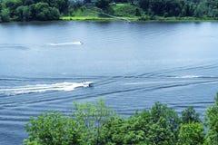 De Rivier van Connecticut in het Oosten Haddam Connecticut stock afbeeldingen