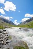 De rivier van de berg royalty-vrije stock foto