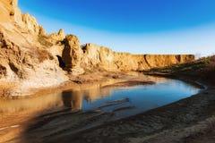 De rivier van de berg Stock Fotografie