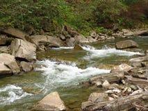 De rivier van de berg Royalty-vrije Stock Fotografie