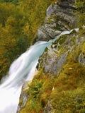 De rivier van de gletsjer stock foto's