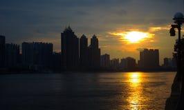 De Rivier van de Guangzhouparel royalty-vrije stock afbeeldingen