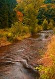 De rivier van de herfst Royalty-vrije Stock Afbeelding