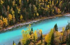 De rivier van de jade stock fotografie