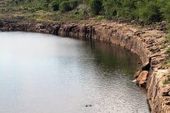 De rivier van de kromme Royalty-vrije Stock Foto's