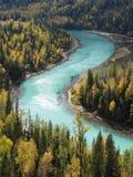 De rivier van de maan Stock Foto's
