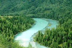 De rivier van de maan Stock Fotografie