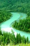 De rivier van de maan Royalty-vrije Stock Afbeeldingen