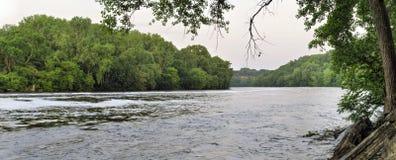 De Rivier van de Mississippi Stock Foto
