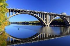 De rivier van de Mississippi. Stock Foto's
