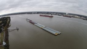 De rivier van de Mississippi Royalty-vrije Stock Foto's